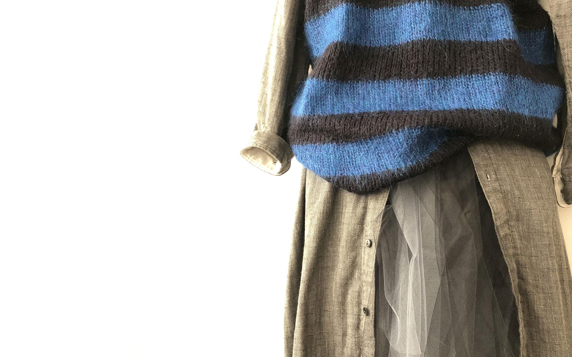 ナチュラル服・肌触りの良い大人のガーゼ服はao daikanyama   アオ代官山