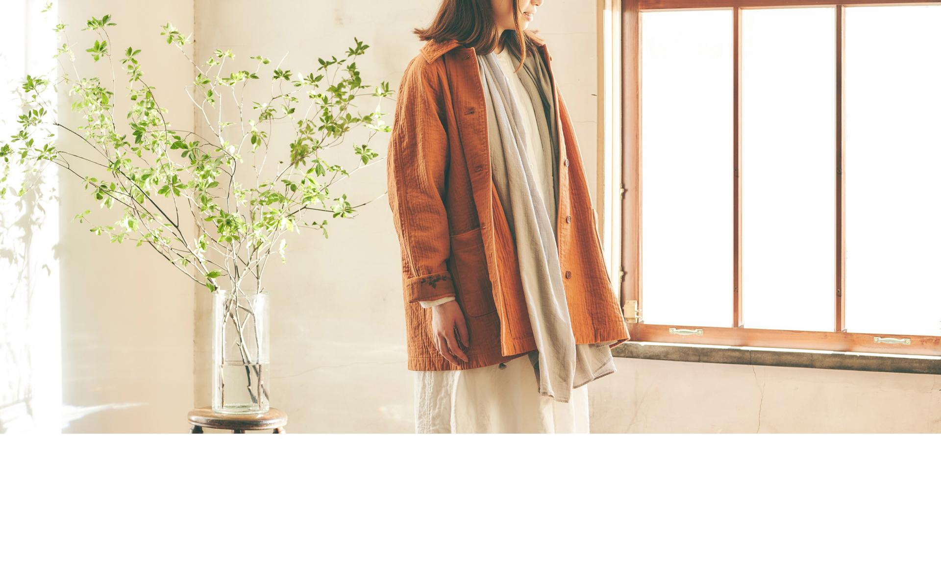 ナチュラル服・肌触りの良い大人のガーゼ服はao daikanyama | アオ